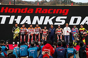 MotoGP Breaking news Marquez and Pedrosa attend Honda Racing's Thanks Day event