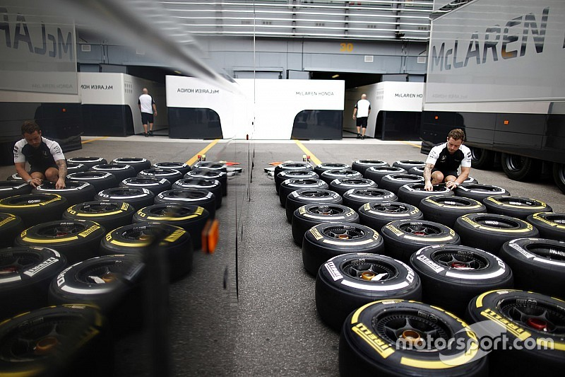 Friday deadline for first 2016 F1 tyre choices