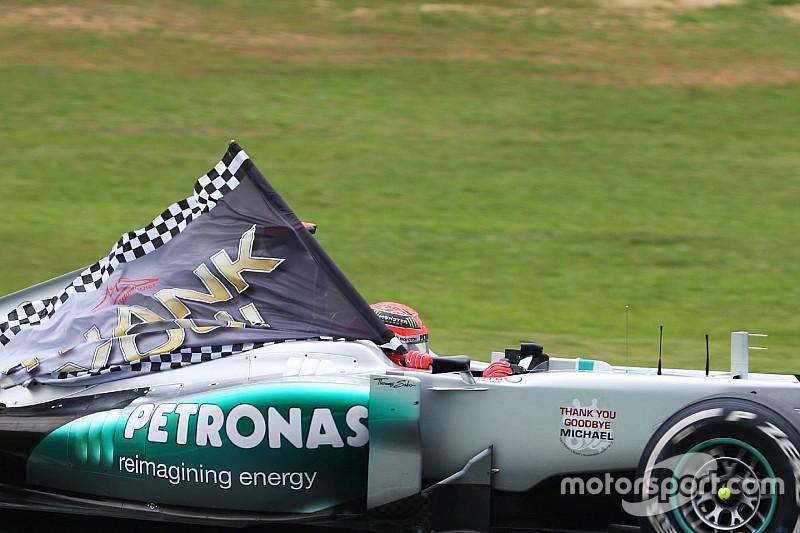 Schumacher had aandeel in huidig Mercedes-succes - Rosberg