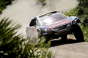 Dakar Stage report Dakar Cars, Stage 4: Peterhansel wins as Peugeot dominates
