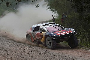 Dakar Stage report Dakar Cars, Stage 5: Loeb extends lead with third win