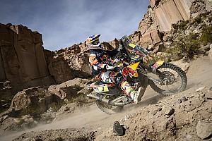 Dakar Stage report Dakar Bikes, Stage 6: Price edges closer, disaster for Barreda