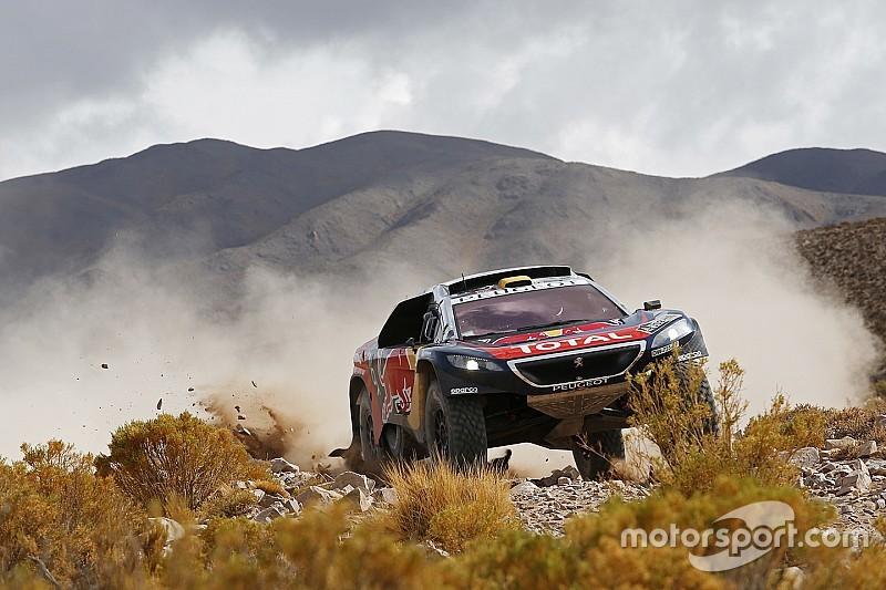 Peterhansel verrast door leiding in Dakar Rally