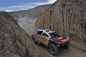 Dakar Prüfungsbericht Rallye Dakar: Sainz Schnellster, Loeb holt sich die Führung zurück
