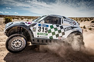 Dakar Stage report Three AXION X-raid Team MINI ALL4 Racing finish Stage 7 in the top ten