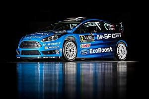 WRC Breaking news M-Sport unveils 2016 WRC challenger