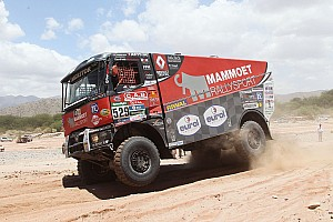 Dakar Stage report Dakar Trucks, Stage 10: Shock win for De Baar as De Rooy takes decisive lead