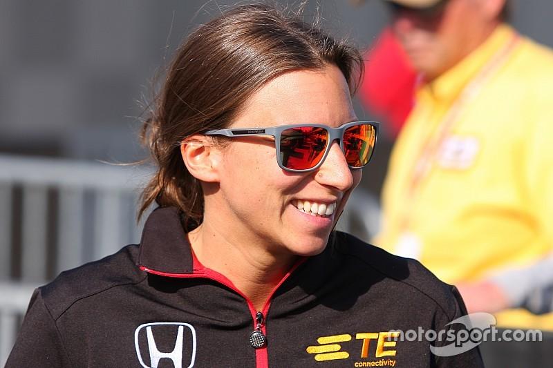 Simona De Silvestro – Interested in IndyCar but focused on Formula E