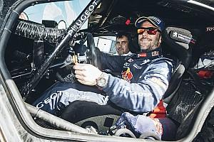 Dakar Interview Loeb aware of weaknesses after Dakar debut