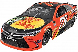 NASCAR Sprint Cup Breaking news Truex renews partnership with Bass Pro Shops at Furniture Row