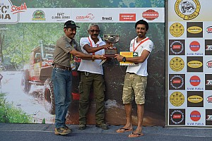 Offroad Breaking news Jagat Nanjapa wins RFC South India