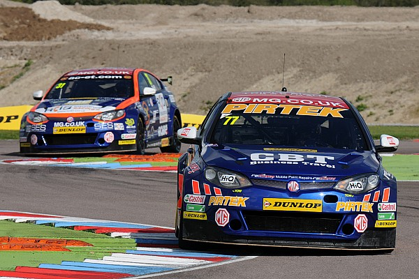 BTCC Interview MG admits lack of driver continuity an