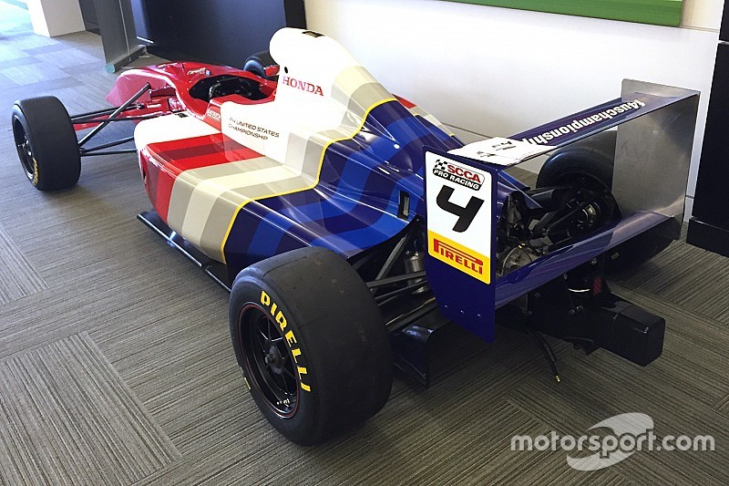 U.S. F4 chassis homologated by the FIA