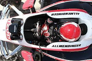 IndyCar Breaking news Allmendinger: I'll never race an open-cockpit IndyCar after Wilson's death