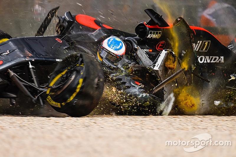 阿隆索:很不幸我记得撞车的所有细节