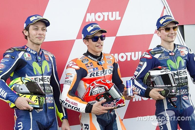 Marquez, Pedrosa, Rossi & Lorenzo: Das sagen sie zur kurzfristigen Reifenänderung