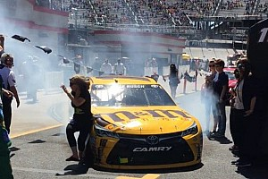 NASCAR Sprint Cup Breaking news NASCAR addresses Kyle Busch incident where he struck a spectator
