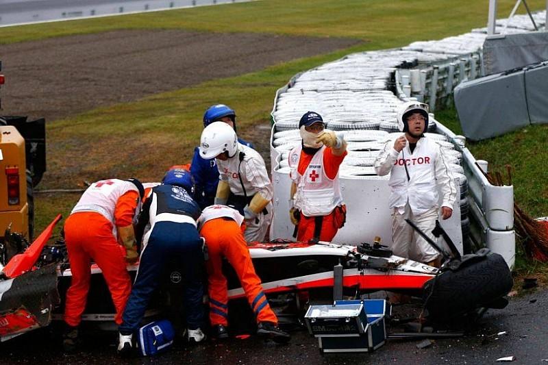Официальный релиз FIA по поводу аварии Жуля Бьянки