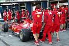 О проблемах Ferrari в первом Гран При