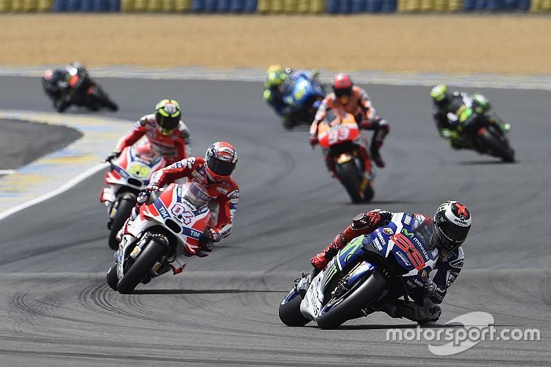 MotoGP勒芒:洛伦佐称雄 全场意外频发