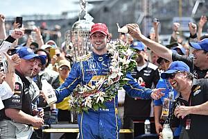 IndyCar Yarış raporu Çaylak Alexander Rossi 100'üncü Indy 500'ü kazandı