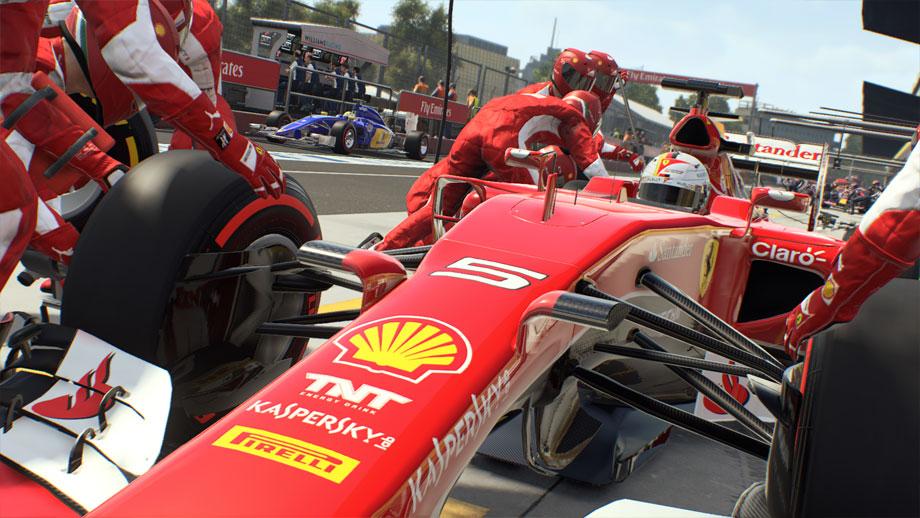 Érkezett pár új kép az F1 2015 játékhoz