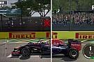 Ezt tudja grafikában az F1 2015 a tavalyi hivatalos F1-es játékhoz képest