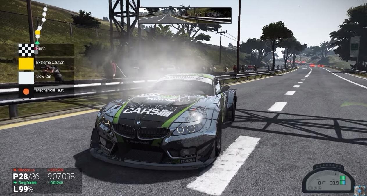 Project CARS: Dráma a játékban! Az utolsó métereken ment tönkre a BMW