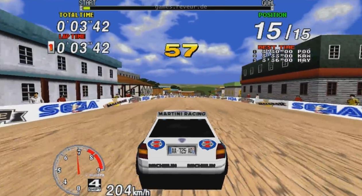 Egy igazi legenda! Sega Rally Championship! Emlékeztek még?
