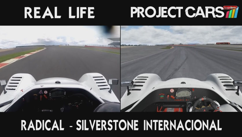 Project CARS a valóság ellen Silverstone-ban: Figyelj és ámulj