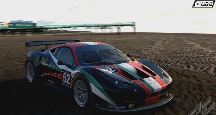Egy igazi ferraris élmény a játékban: Ferrari 458 GT2