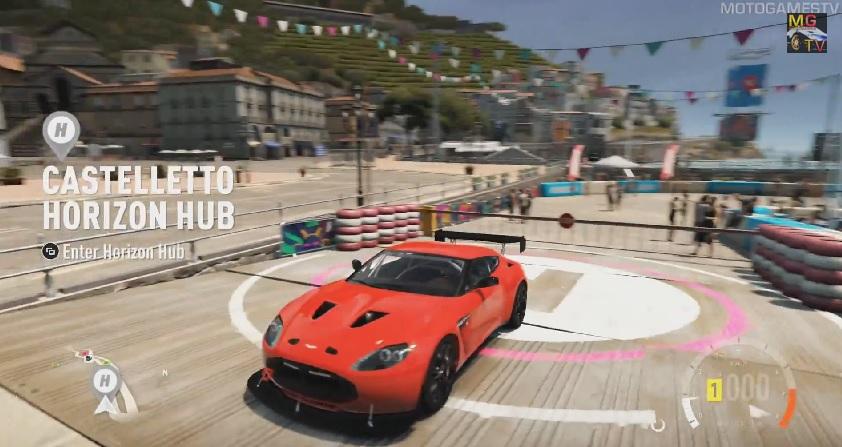 Forza Horizon 2: Aston Martin V12 Zagato (Villa d'Este)! Iszonyat megy! (Xbox One)