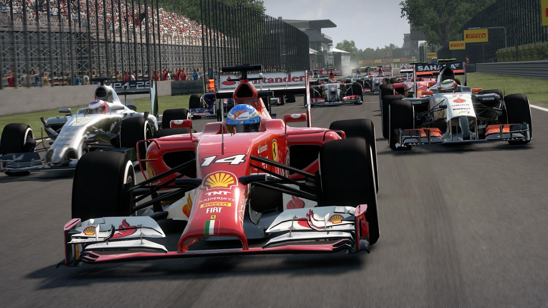 F1 2014: Kedvcsináló képgaléria a játékhoz