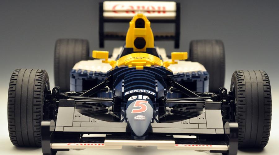 Amire egy igazi F1-es rajongó képtelen lenne nemet mondani: Williams FW14B Legóból
