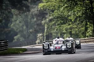 Ле-Ман Отчет о гонке Porsche впереди по итогам четырёх часов в Ле-Мане