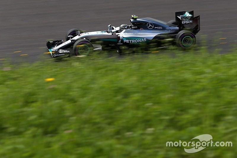 F1オーストリアGP FP2:通り雨襲来。ロズベルグFP1に続き首位