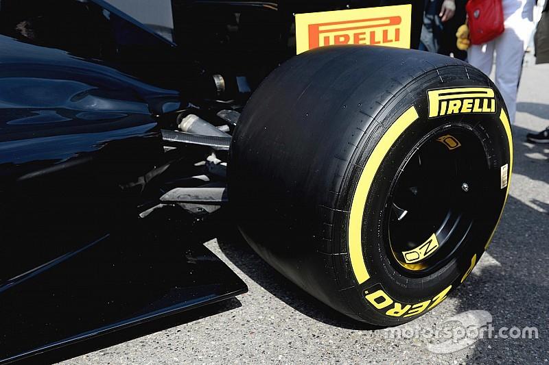 2017年サイズタイヤのテスト。フェラーリが初回を担当