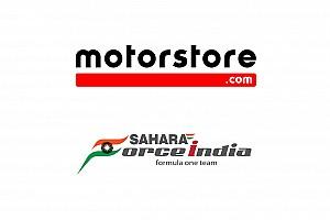 Motorstore.com e Sahara Force India formalizam parceria