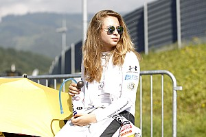 Formula 4 Special feature Sophia Floersch: Lack of testing bites at the Red Bull Ring