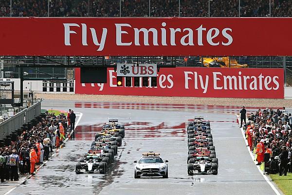 Formule 1 Actualités Accord sur des départs arrêtés en cas de pluie