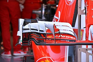 Technique - Aileron avant revu sur la Ferrari SF16-H
