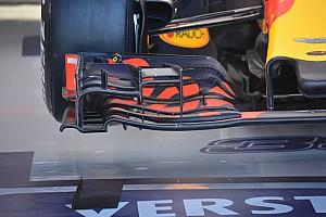 Breve análisis técnico: Alerón delantero del Red Bull