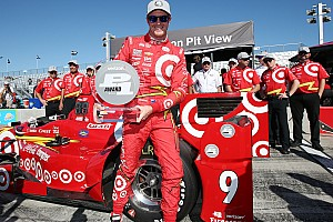 IndyCar 予選レポート インディカー第15戦ワトキンスグレン予選:ディクソンがPP。琢磨はクラッシュで最後尾グリッド