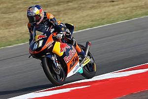 Moto3 Reporte de calificación Binder se lleva la pole de Moto3; inoportuna caída de Navarro