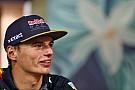 Max Verstappen: Red Bull Racing ist in Singapur nicht der Favorit