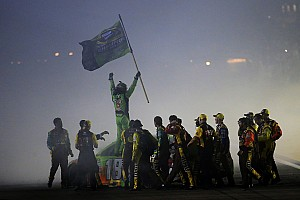 NASCAR Sprint Cup Qualifying report Kyle Busch to kick off title defense from pole at Chicagoland