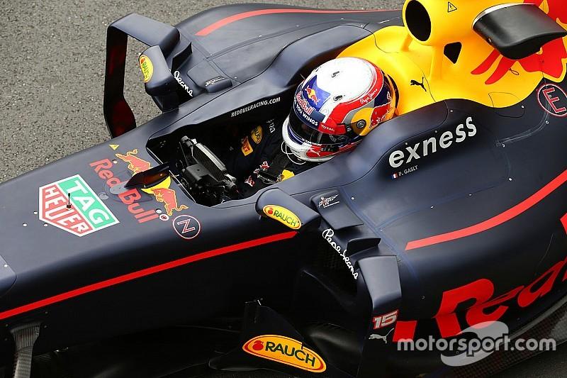 Pierre Gasly fährt Pirelli-Reifentests für Red Bull Racing in Abu Dhabi