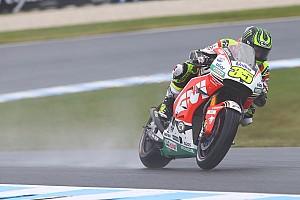 Crutchlow lidera dia encurtado; Rossi se envolve em polêmica