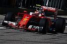 Boxenpanne bei Kimi Räikkönen: