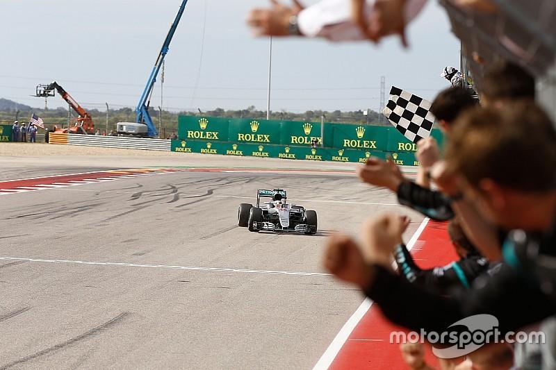 F1アメリカGP決勝分析:ハミルトンはタイム差以上の完勝劇だった!?